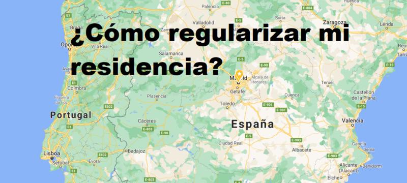 ¿Cómo puedo regularizar mi situación en España,  sin regresar a mi país de origen?